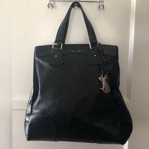 Celine Orlov Black Leather Bag